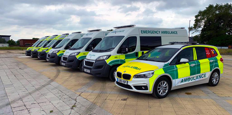NVSUK Ambulance Hire