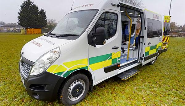 ambulance hire rental sales niche vehicle solutions ltd. Black Bedroom Furniture Sets. Home Design Ideas