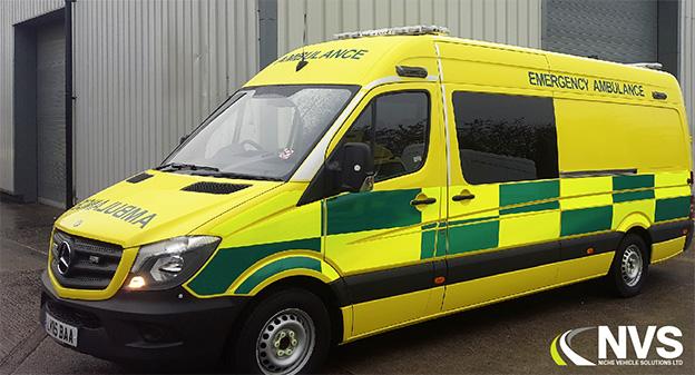 mercedes sprinter ambulanse